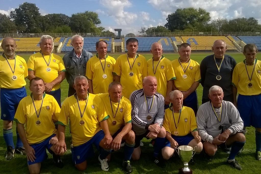 Закапатські ветерани 60+ тріумфують у чемпіонаті України (ФОТО)
