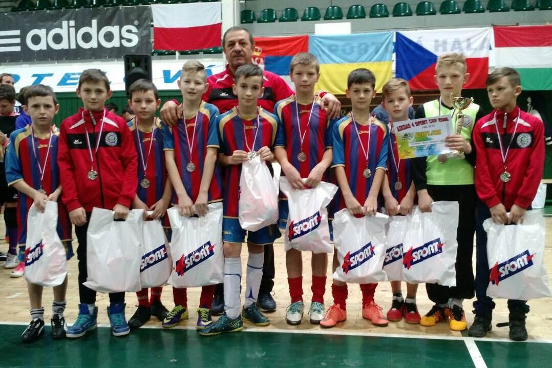 Закарпатські юніори везуть нагороди з Adidas 4 Sport Cup 2018